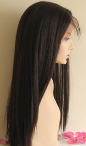 Synthetic Lace Wig Yaki Straight Texture