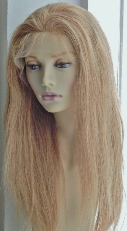 Lace Front Wig - Silky Straight with Baby Hair