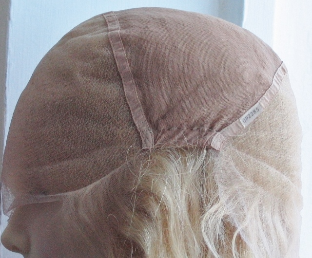 Full lace cap wigs with ear-to-ear stretch