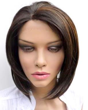 Silky Straight Full Lace Wigs 01