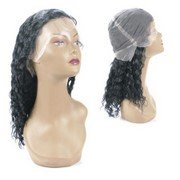 Full lace cap wig without stretch